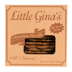 Little Gina's Chocolate Pizzelle
