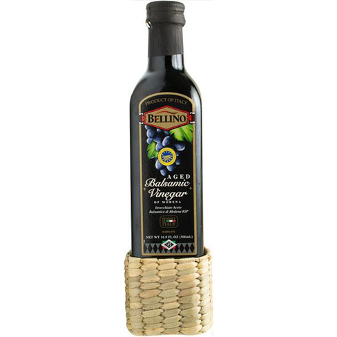 Bellino Balsamic Vinegar with Straw Base- 16.9 oz.