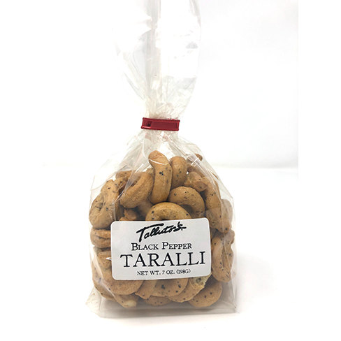 Talluto's Own Taralli- Black Pepper - 7 oz.