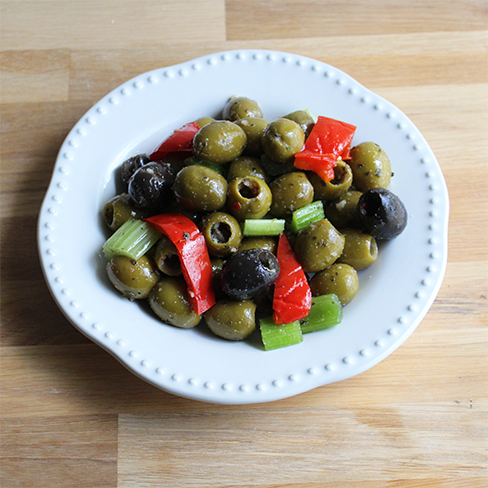 Marinated Sicilian Olive Salad