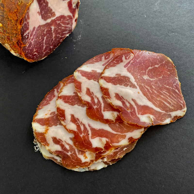 Hot Dry Cured Slicing Capocollo