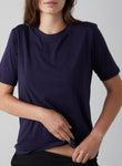 F002 Womens Slim Sleeve Crew