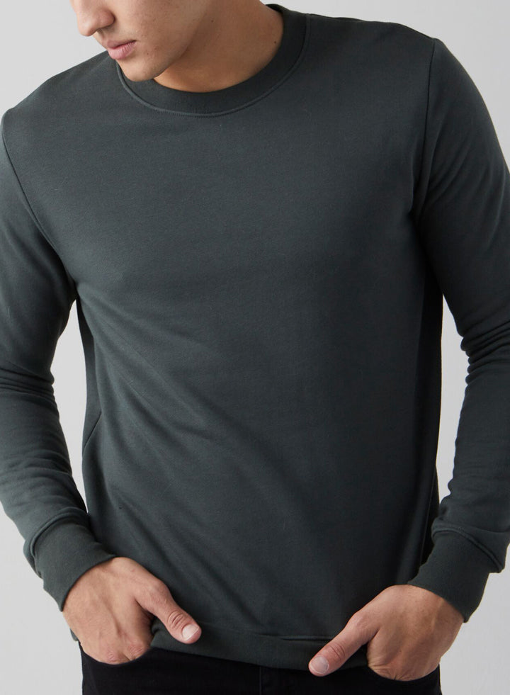 F008 Mens Crew Neck Sweatshirt