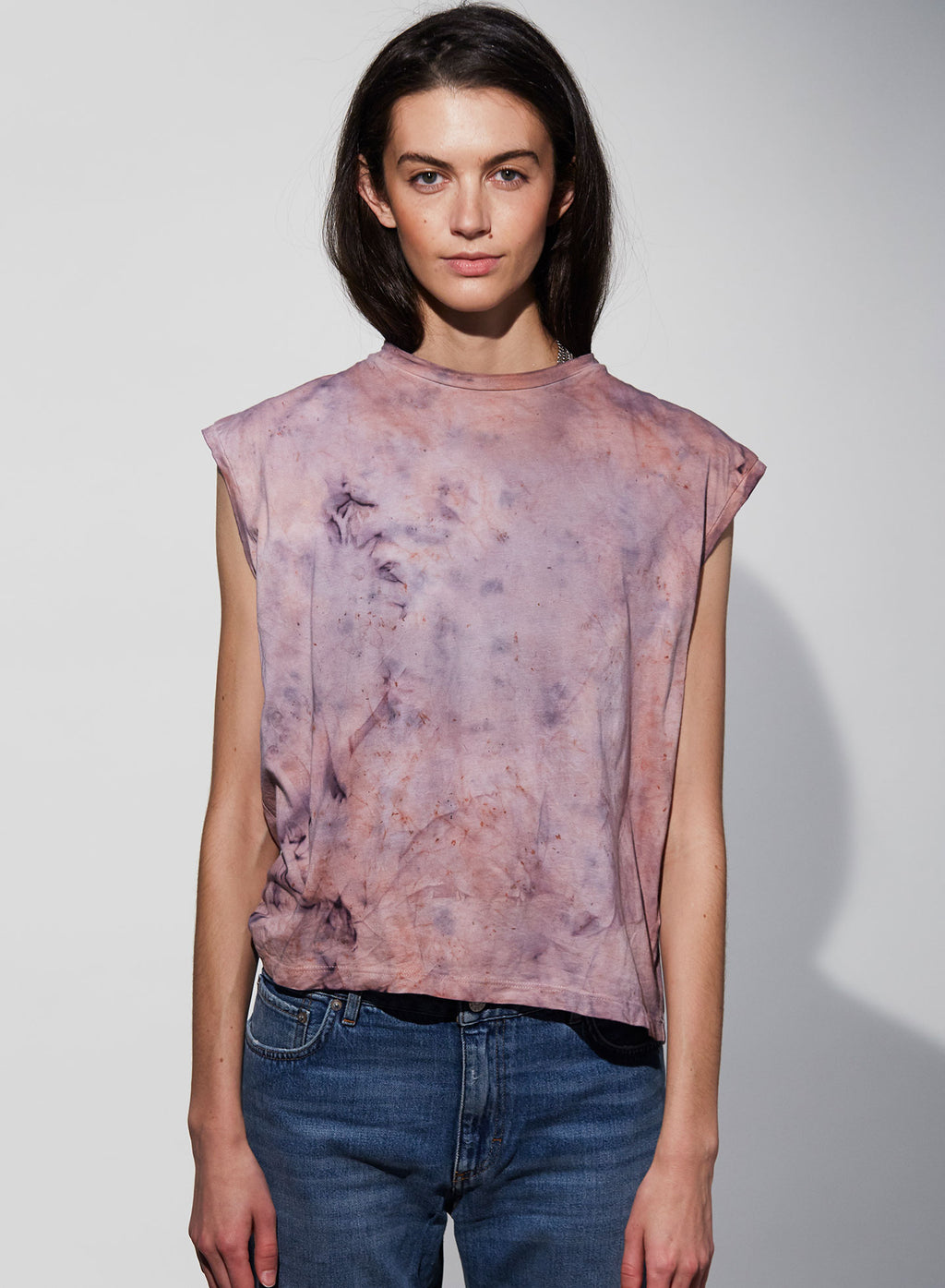 Hand-Dyed Muscle Tee