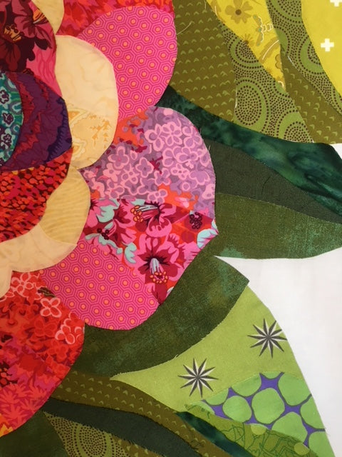 "Simple Method for ""Felicity"" Collage Quilt"