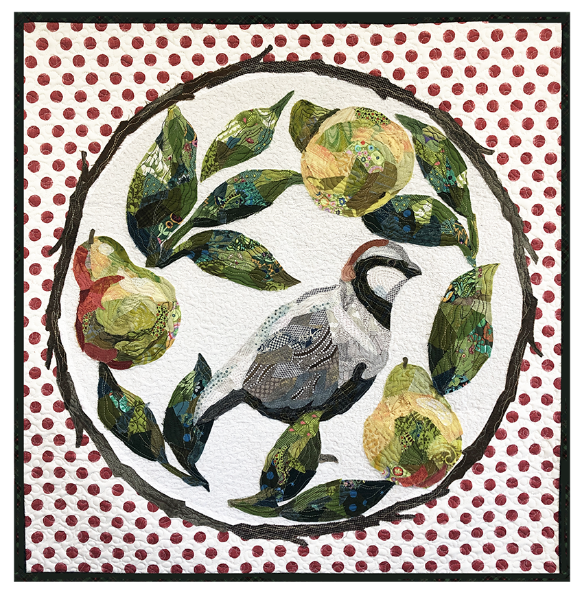 Partridge in a Pear Tree Quilt Along!