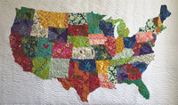 USA Collage Quilt Tutorial