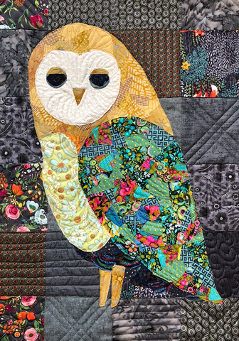 Owl Collage Quilt
