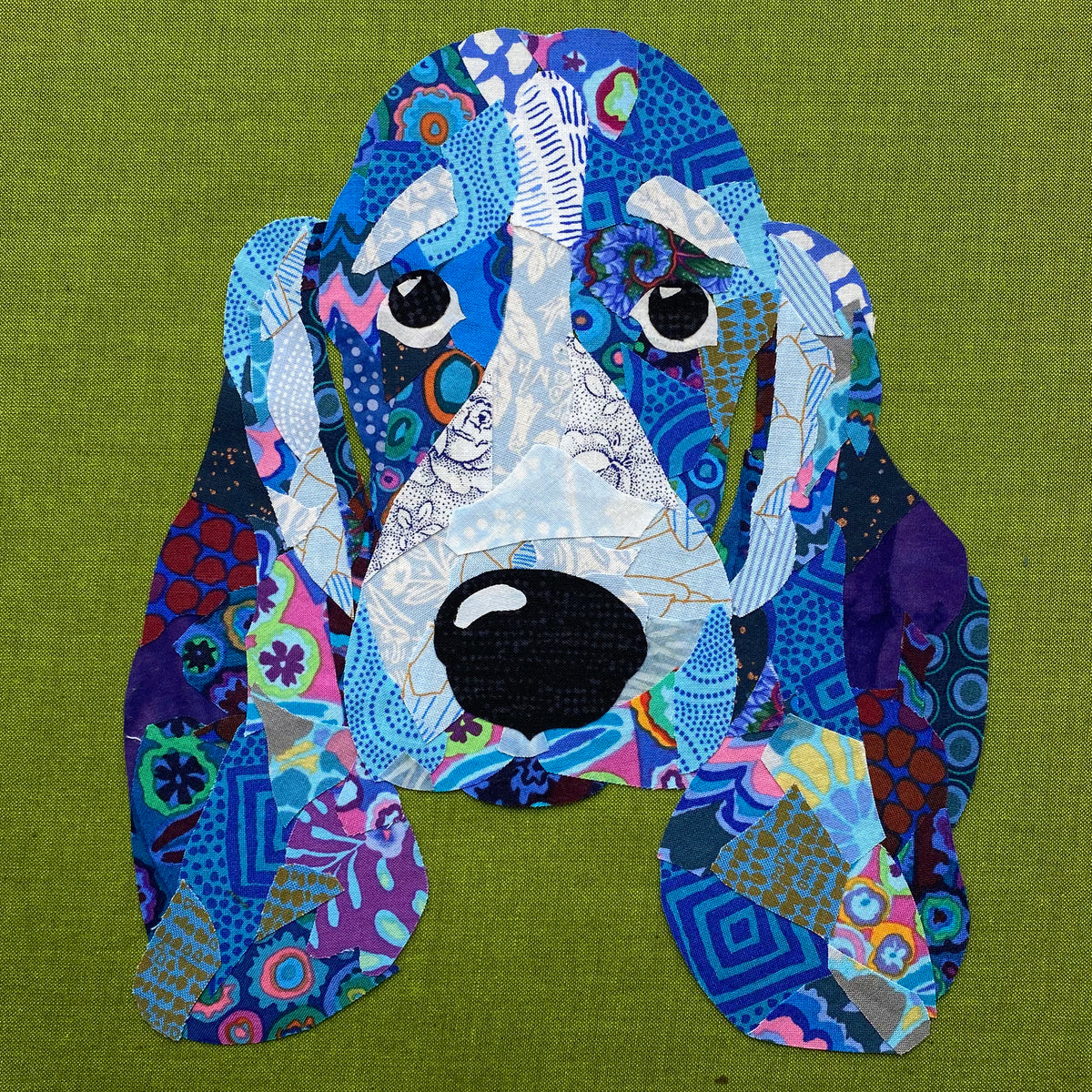 Pop Art Pups- Blue the Hound