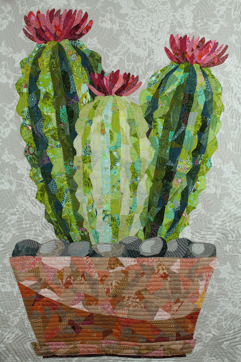 Cactus Collage Quilt