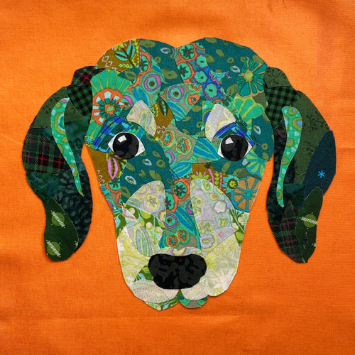 Pop Art Pups- Dot the Doxie