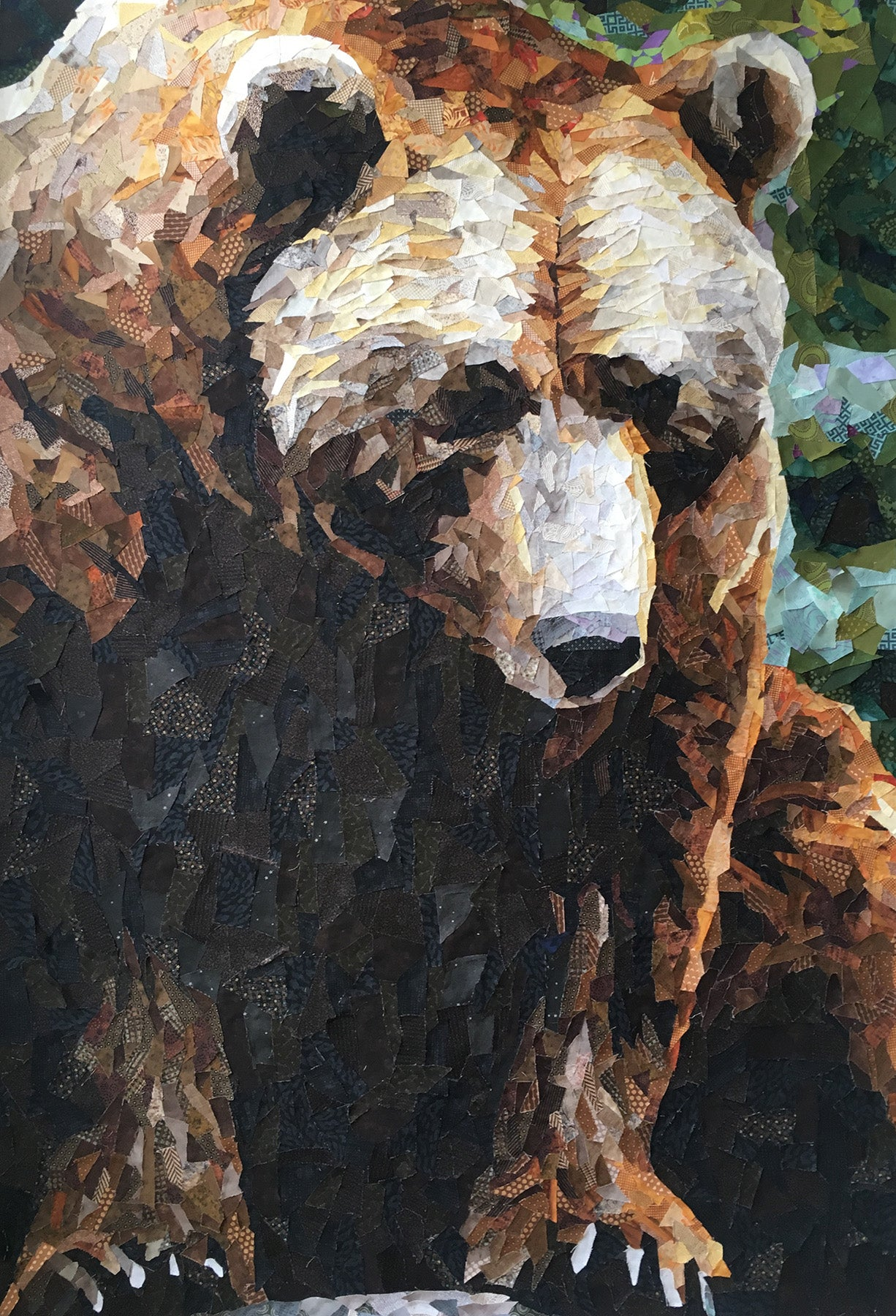 Grizzly Collage Quilt Pattern