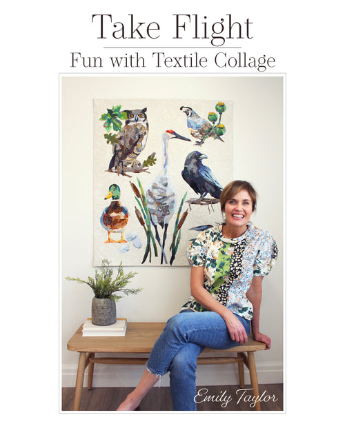 BOOK: Take Flight~Fun with Textile Collage