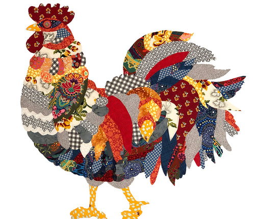 Rooster Downloadable Pattern