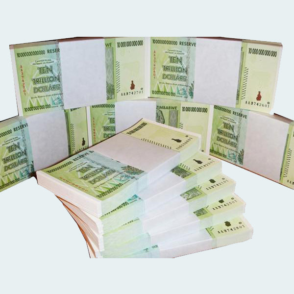 10 Trillion Denomination Full Bundle Of 100 Notes
