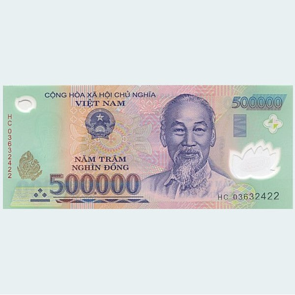500,000 Vietnamese Dong Banknote UNC
