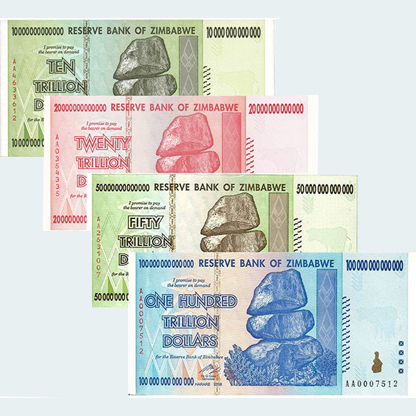 20 Trillion Zimbabwe Notes