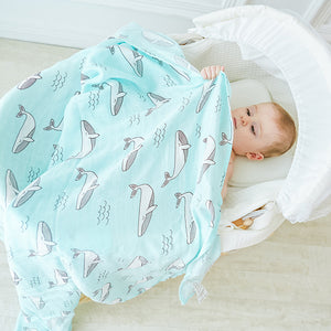 Bamboo-Cotton Muslin Swaddle