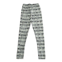 Casual Pants Scores Sheet Music Ropa Mujer