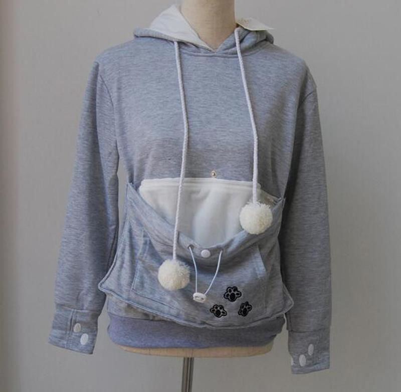 Cat Lovers Pianists - Hoodie With Cuddle Pouch Ropa Mujer