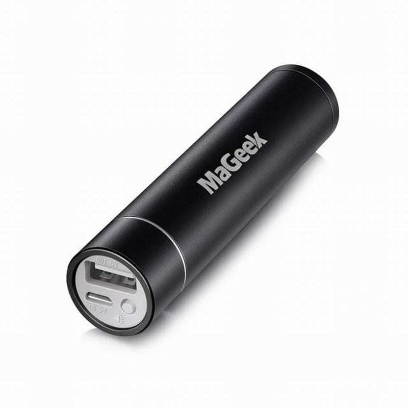 Mini 3350Mah Power Bank Portable Lipstick Charger Backup Battery External Accesorio