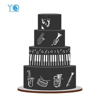 Molds To Decorate Cakes- Pianissimo Accesorios