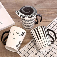 Mugs In Three Musical Motifs Accesorio