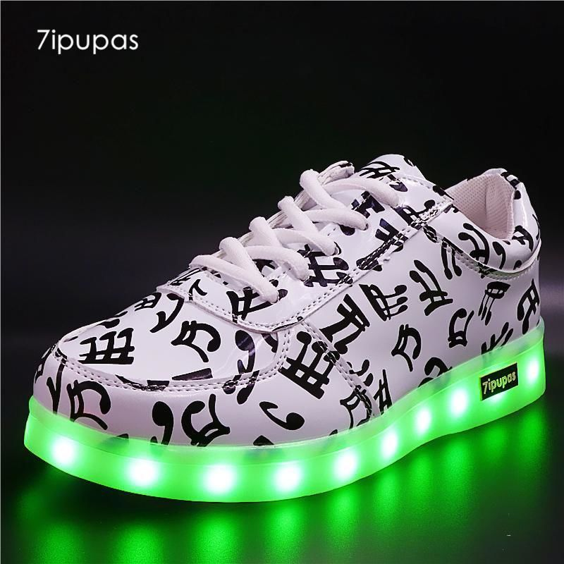 New Basket -Sports Shoes Casual Bright 7 Colors And Musical