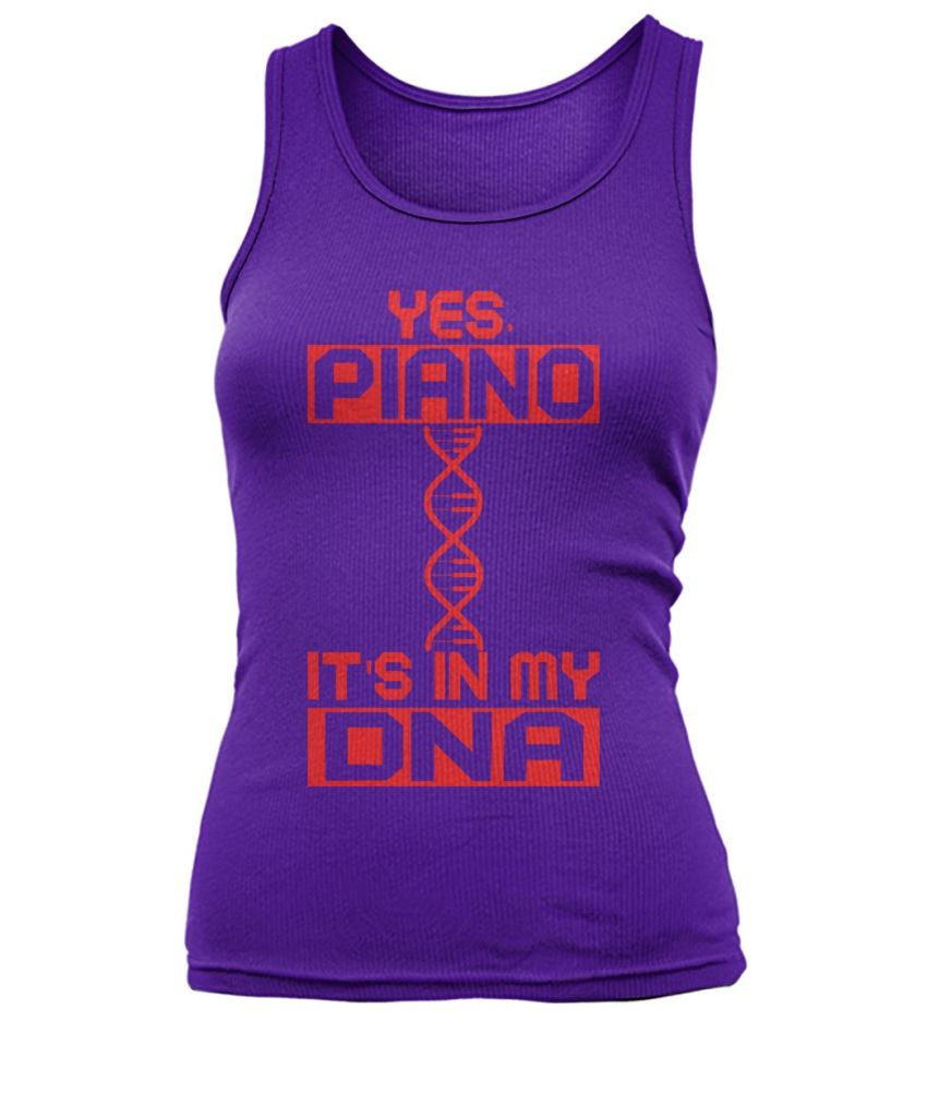 Piano Dna Women's Tank Top Tops