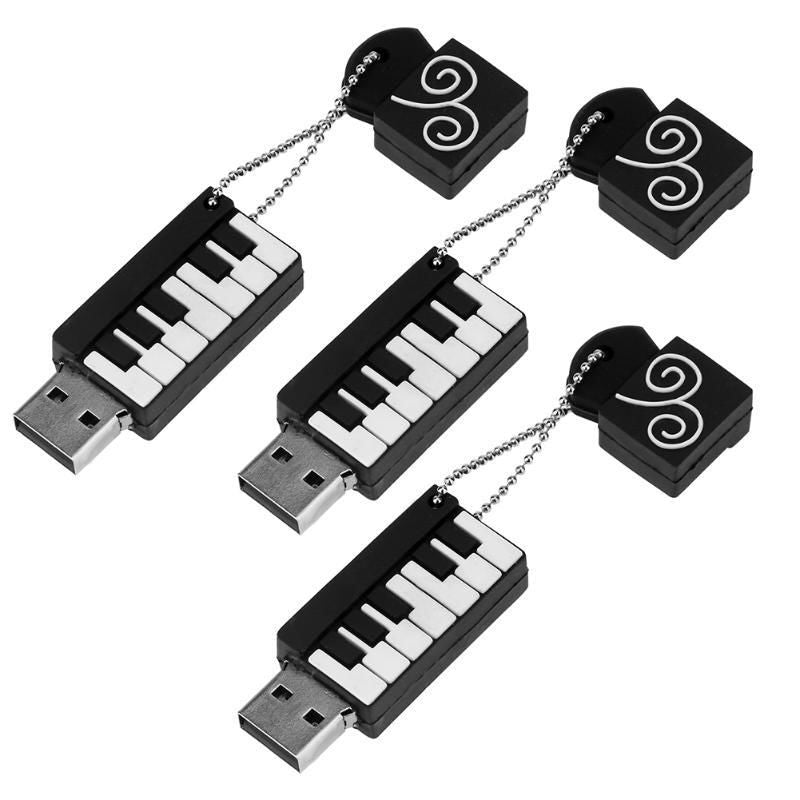 Piano Usb Flash Disk Computer External Storage Accesorios