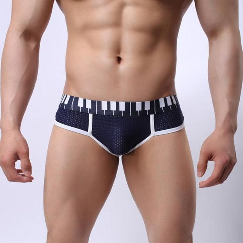 Underwear For Men With Piano Keyboard Ropa Hombre
