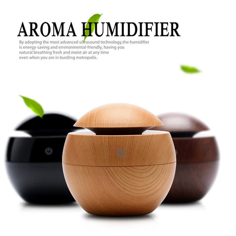 Usb Ultrasonic Humidifier Led Aroma Diffuser Decor