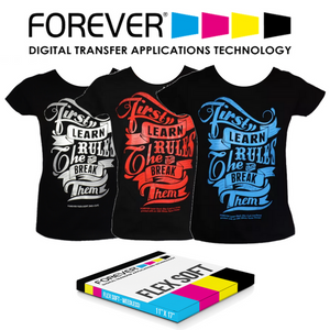 FOREVER Flex-Soft (No-Cut) Laser Heat Transfer Paper