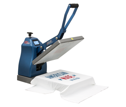 "HIX HT-400 15""x15"" Clamshell Heat Press"
