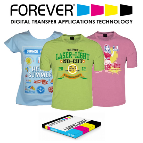 Forever Laser-Light (No-Cut) Heat Transfer Paper