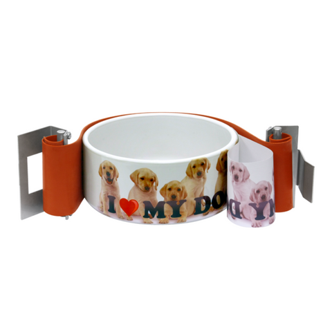 Hix Dog Bowl Sublimation Oven Wraps