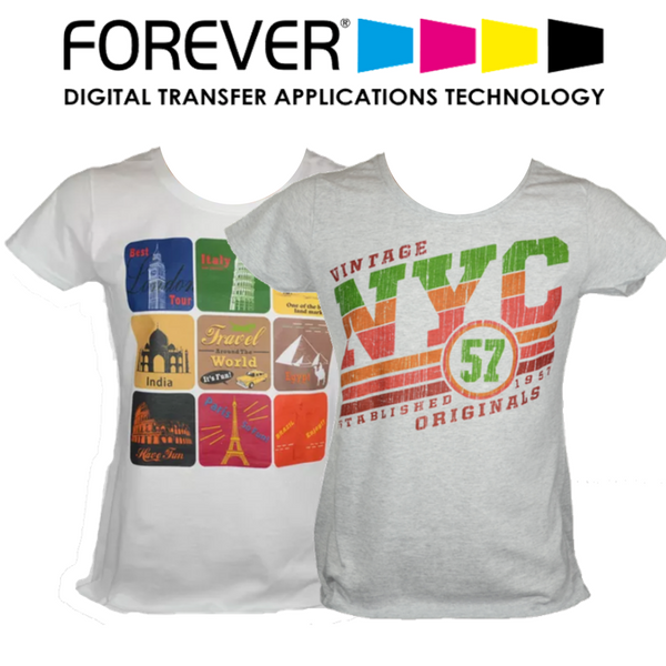 Forever Transparent (No Background) Heat Transfer Paper