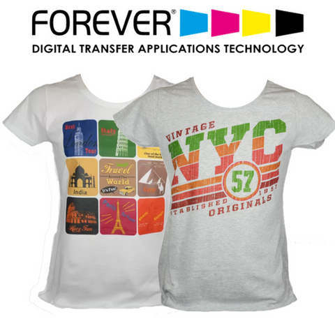 Image of Forever Transparent (No Background) Heat Transfer Paper