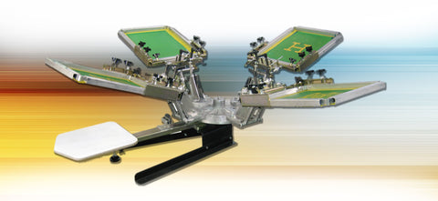 Image of HIX Premier Bench-top Rotary Screen Printer
