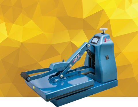 "Image of HIX S-450 15""x15"" Clamshell Heat Press"