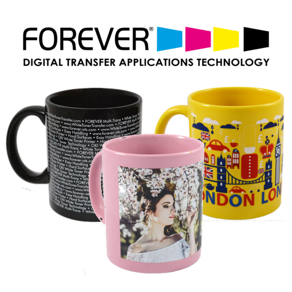 Forever Multi-Trans Heat Transfer Paper for Hard Surfaces