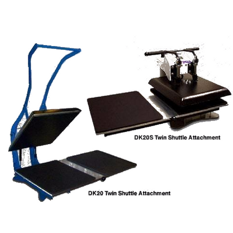 "Geo Knight Twin-Shuttle ADD-ON for Geo Knight 16"" x 20"" Heat Presses"
