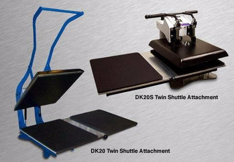 "Image of Geo Knight Twin-Shuttle ADD-ON for Geo Knight 16"" x 20"" Heat Presses"