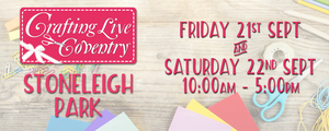 Craftiv8 at Crafting Live Coventry