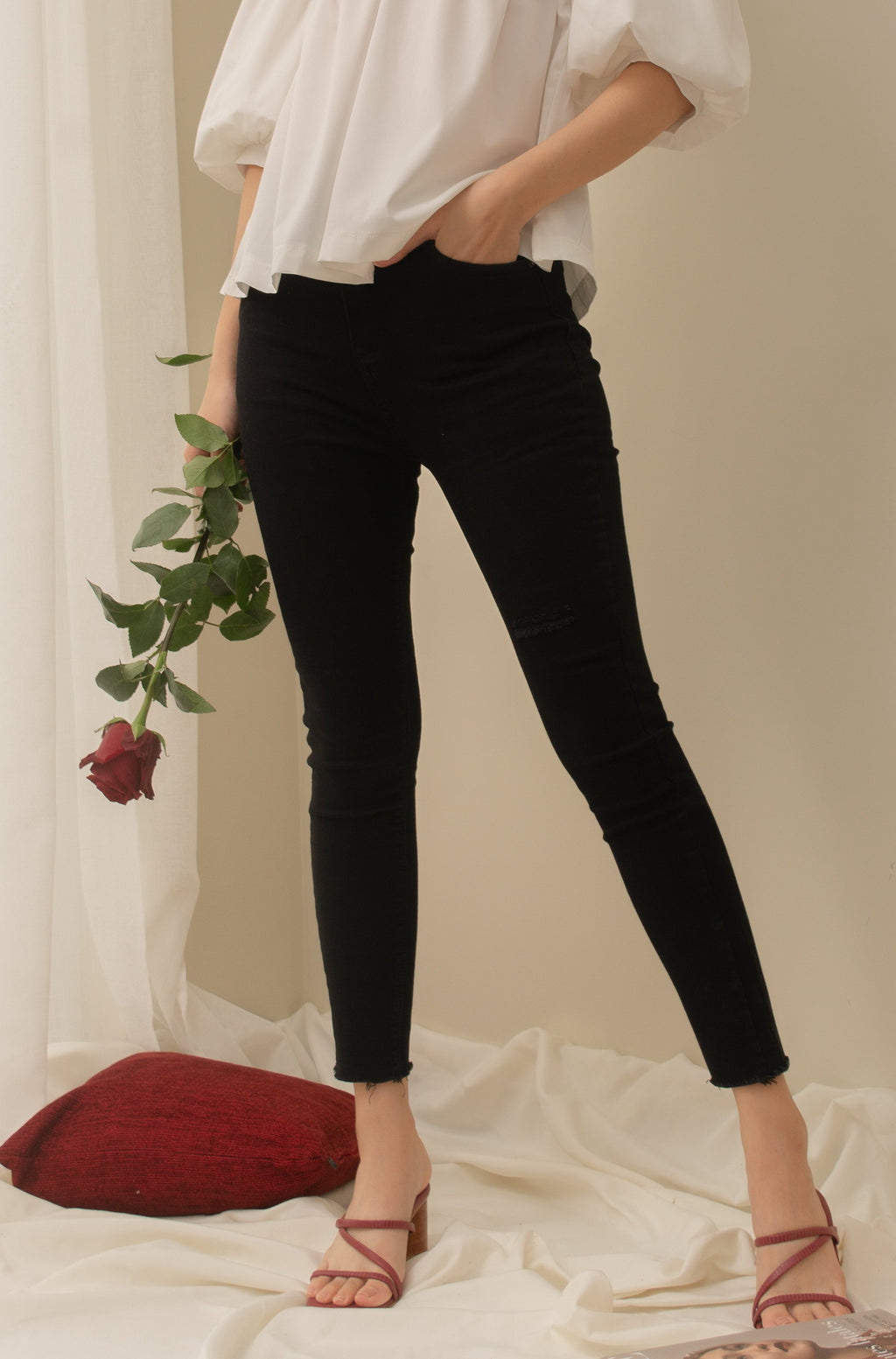 LAUREN Denim Jeans - Black
