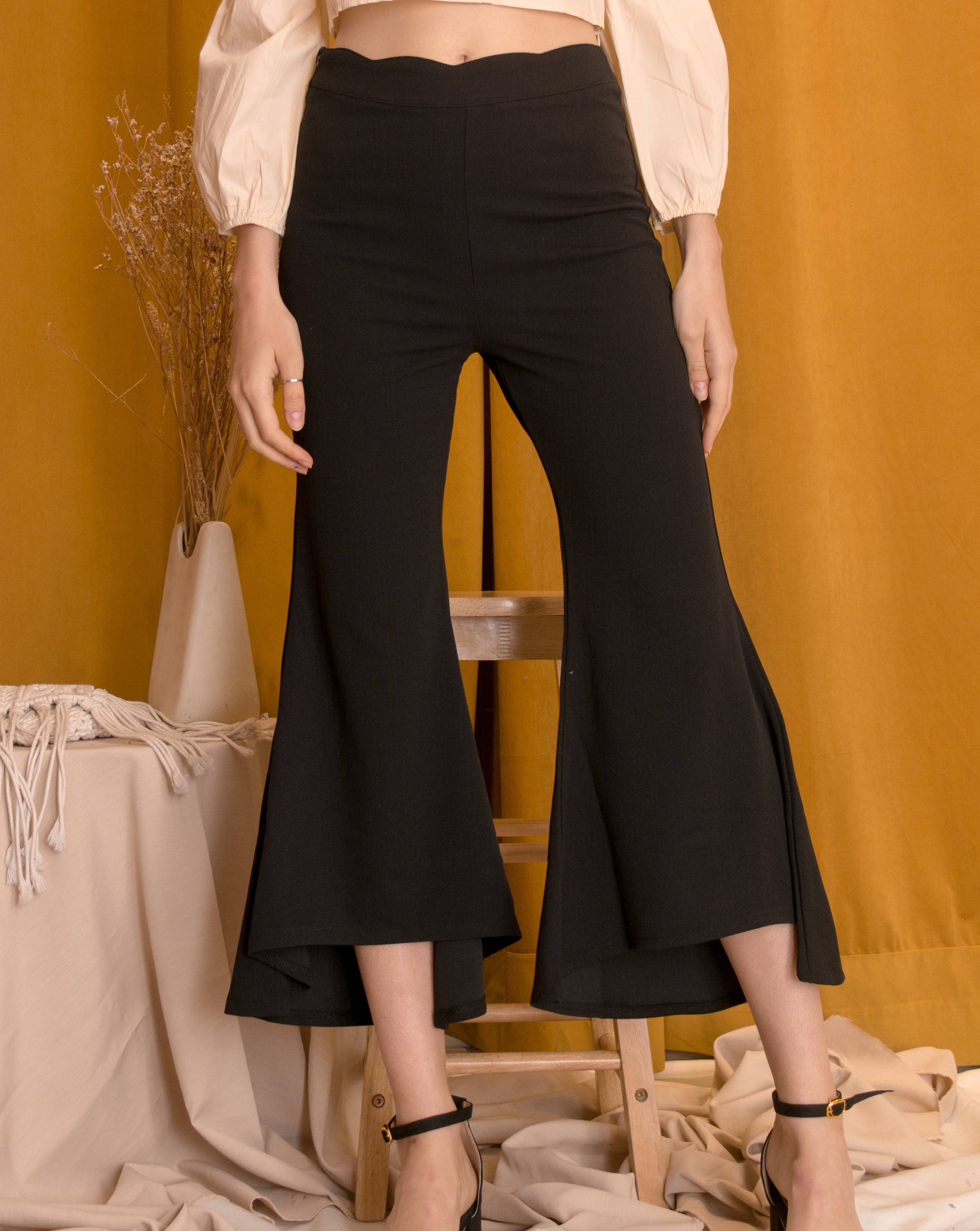 CIELLE Wide Culotte Pants