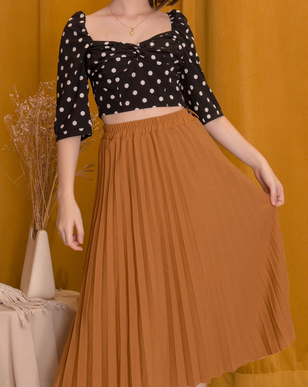 AMICA Pleated Skirt