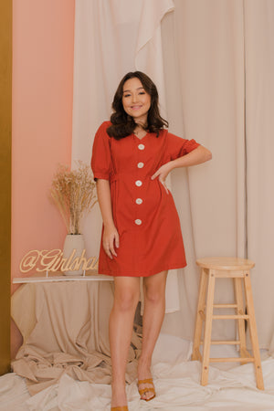 BELLA Buttoned Dress