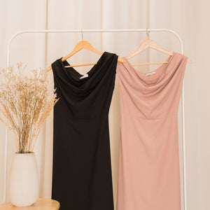 KOURTNEY Cowl Dress
