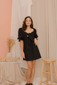 VENICE Puff Sleeve Dress